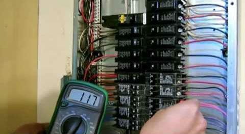 Anaheim Electrician Fixing A Breaker